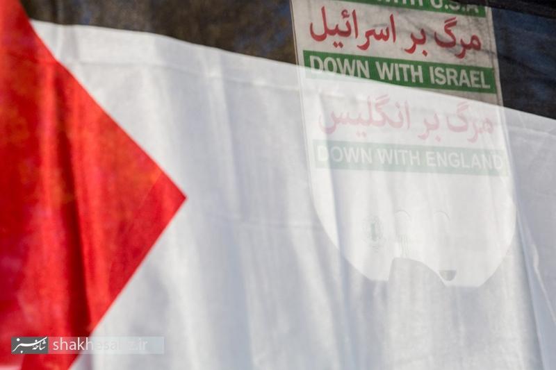 راهپیمایی مردم تهران در محکومیت اقدام آمریکا و رژیم صهیونیستی