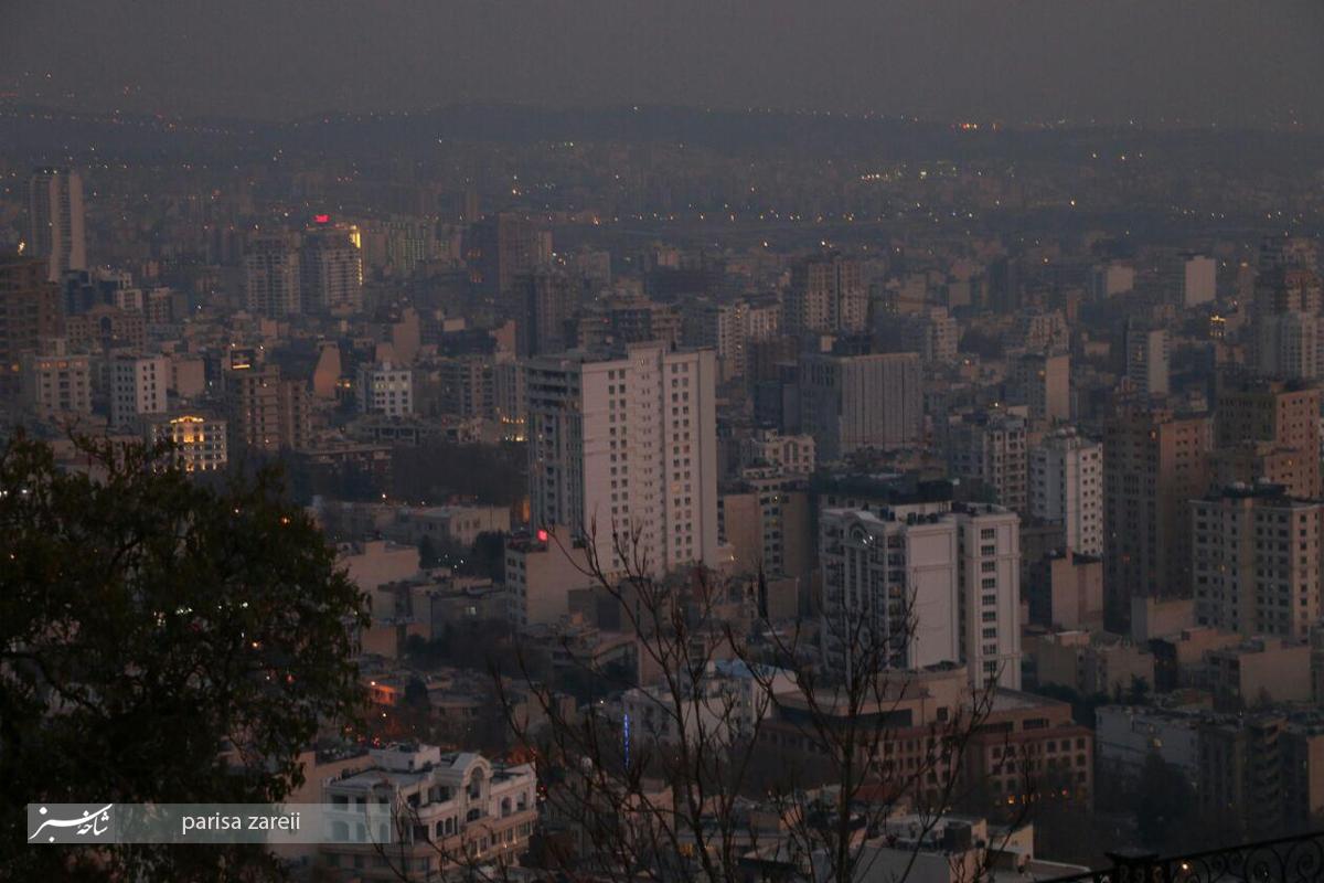 آخرین روزهای پاییز در تهران/تصاویر