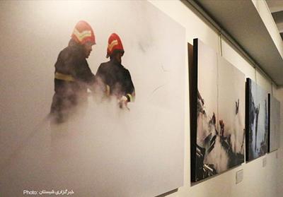 آئین افتتاحیه نمایشگاه آب و آتش/تصاویر